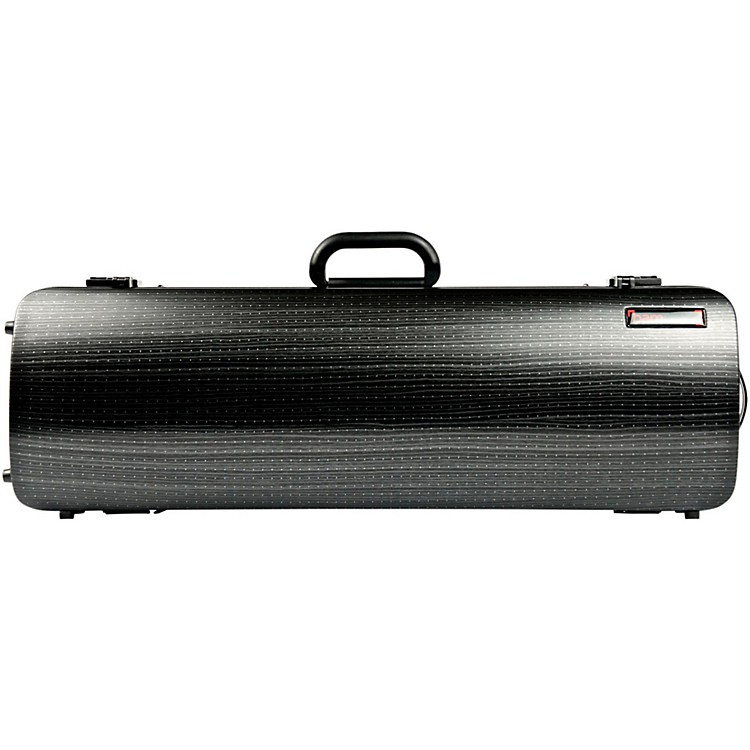 Bam 2001XL Hightech Oblong Violin Case without Pocket Black Lazure