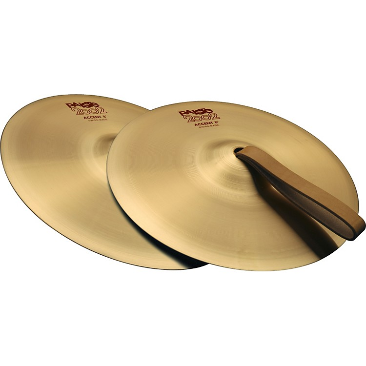 Paiste 2002 Accent Cymbal Pair 8 in.
