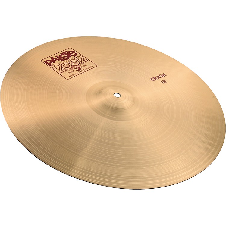 Paiste 2002 Crash Cymbal  18 in.