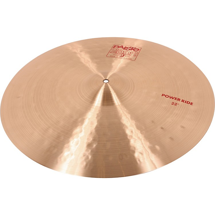 Paiste 2002 Power Ride Cymbal 22 in. 888365026053