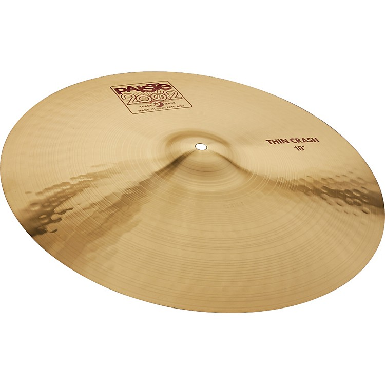 Paiste 2002 Series Thin Crash Cymbal 16 in.