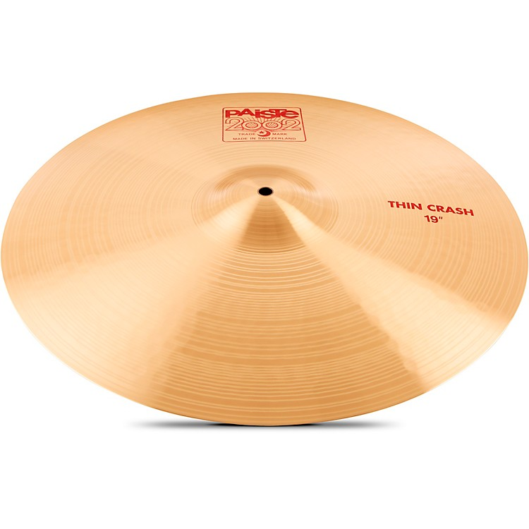 Paiste 2002 Series Thin Crash Cymbal 19 in.