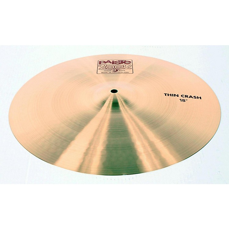 Paiste 2002 Series Thin Crash Cymbal 18 in. 888365018270