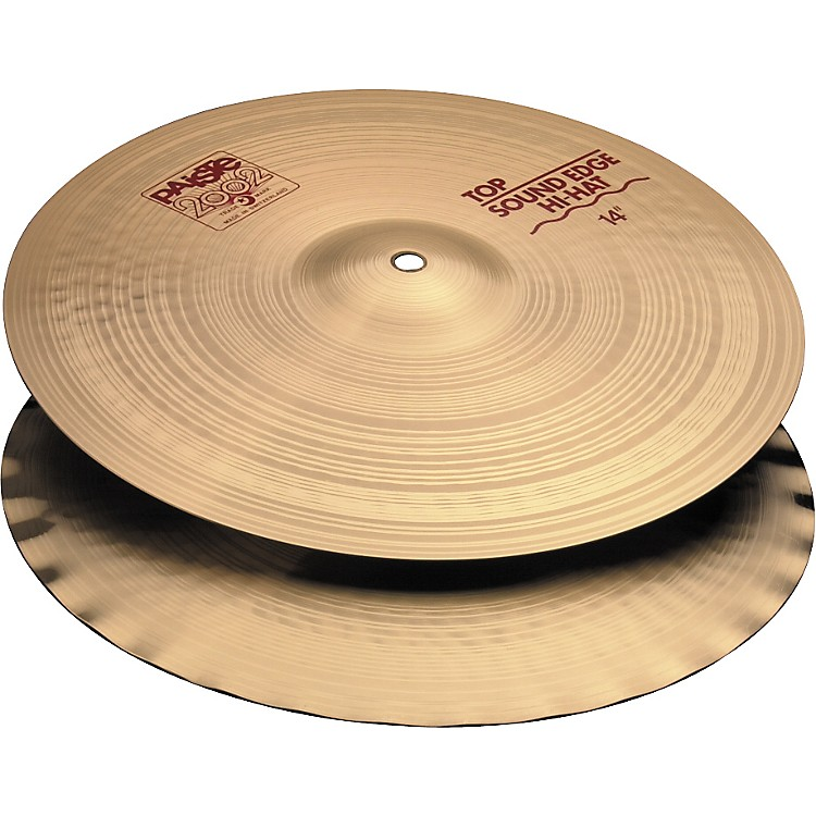Paiste 2002 Sound Edge Hi-Hats  14 in.