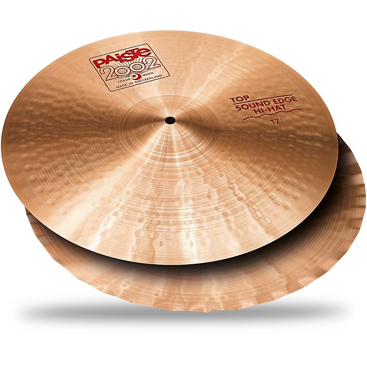 Paiste 2002 Sound Edge Hi-Hats 17 in. Pair