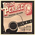 John Pearse 200L 80/20 Bronze Acoustic Guitar Strings