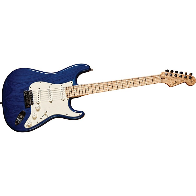 Fender Custom Shop 2011 Custom Deluxe Strat Electric Guitar Candy Blue Maple