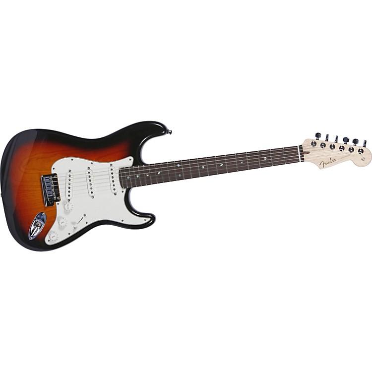 Fender Custom Shop2011 Custom Deluxe Strat Electric GuitarFaded 3-Color SunburstRosewood