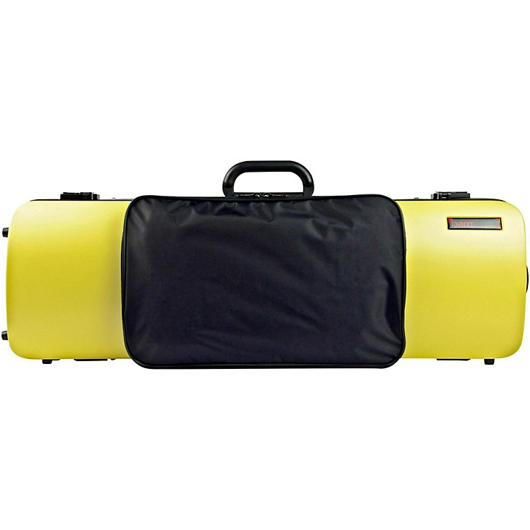 Bam 2011XL Hightech Oblong Violin Case with Pocket Anise