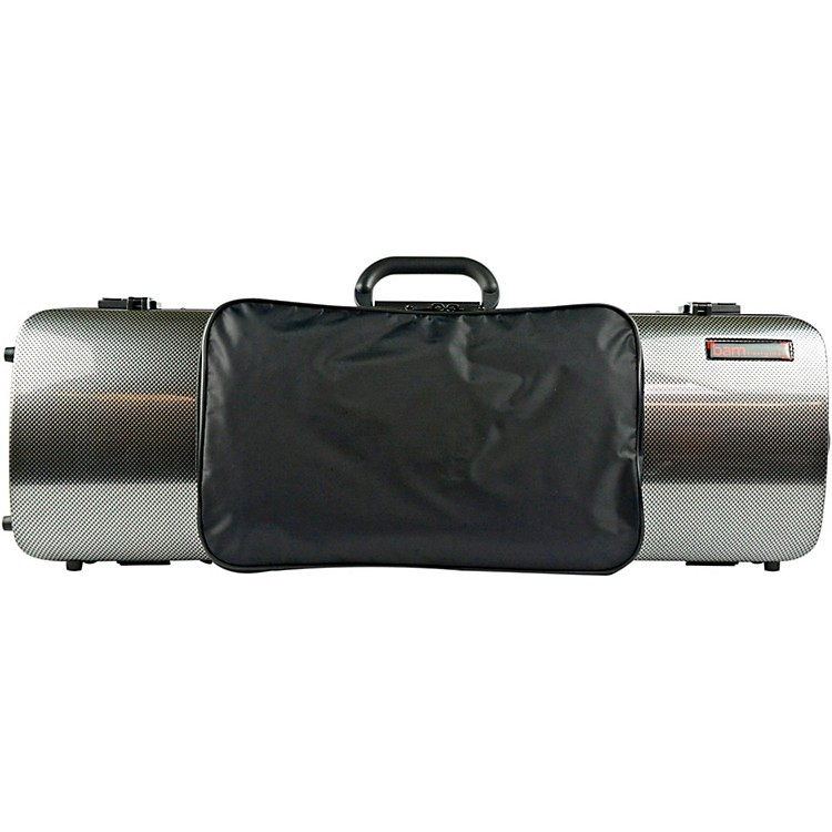 Bam 2011XL Hightech Oblong Violin Case with Pocket Metallic Silver