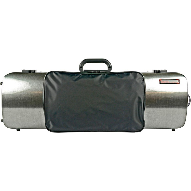 Bam 2011XL Hightech Oblong Violin Case with Pocket Black Carbon