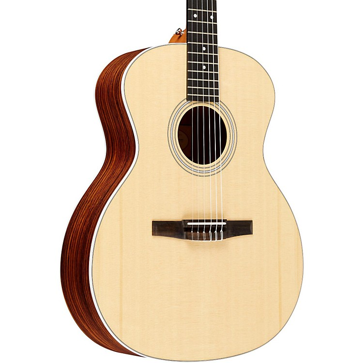 Taylor2012 214e-N-L Rosewood/Spruce Nylon String Grand Auditorium Left-Handed Acoustic-Electric Guitar