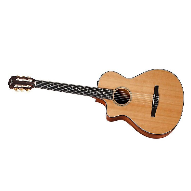 Taylor2012 512ce-N-L Mahogany/Cedar Nylon String Grand Concert Left-Handed Acoustic-Electric Guitar