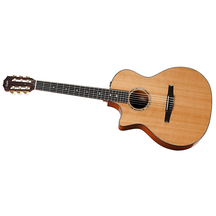 Taylor2012 514ce-L Mahogany/Cedar Grand Auditorium Left-Handed Acoustic-Electric Guitar