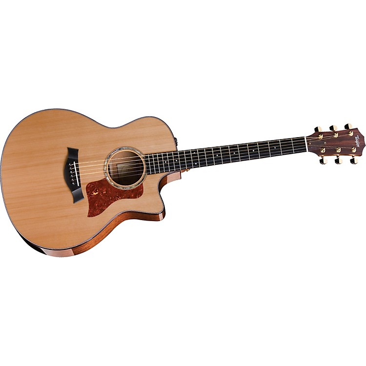 Taylor2012 516ce-L Mahogany/Spruce Grand Symphony Left-Handed Acoustic-Electric Guitar