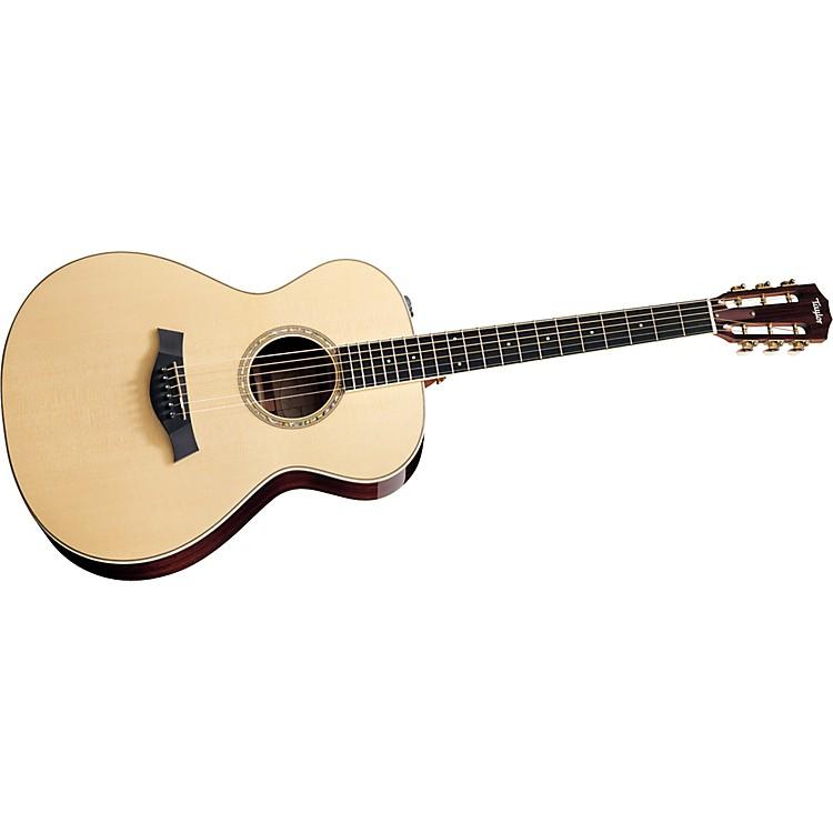 Taylor2012 GA4e-12-L Ovangkol/Spruce Grand Auditorium 12-String Left-Handed Acoustic-Electric Guitar