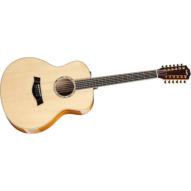 Taylor2012 GA7e-L Rosewood/Cedar Grand Auditorium Left-Handed Acoustic-Electric Guitar