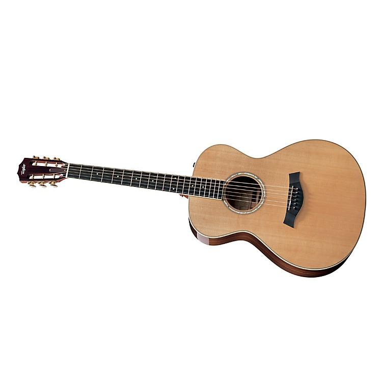 Taylor2012 GC7e-L Rosewood/Cedar Grand Concert Left-Handed Acoustic-Electric Guitar