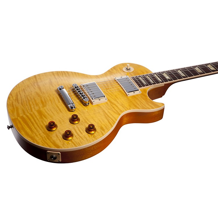 Gibson 2013 Les Paul Standard Premium Plus Left-Handed Electric Guitar Tea Burst 888365043258