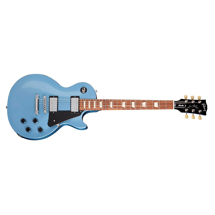 Gibson2013 Les Paul Studio Electric GuitarPelham BlueChrome Hardware