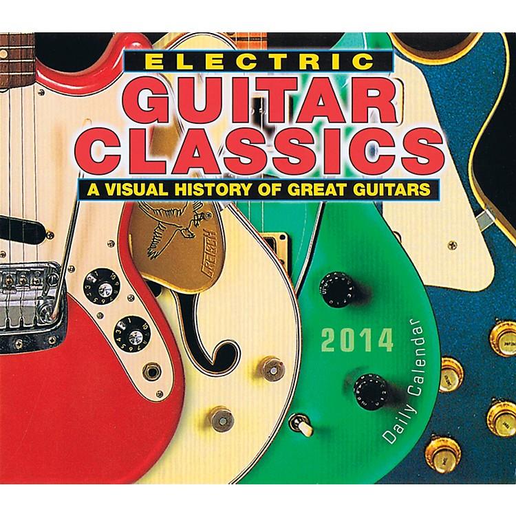 Hal Leonard2014 Electric Guitar Classics Daily Boxed Calendar