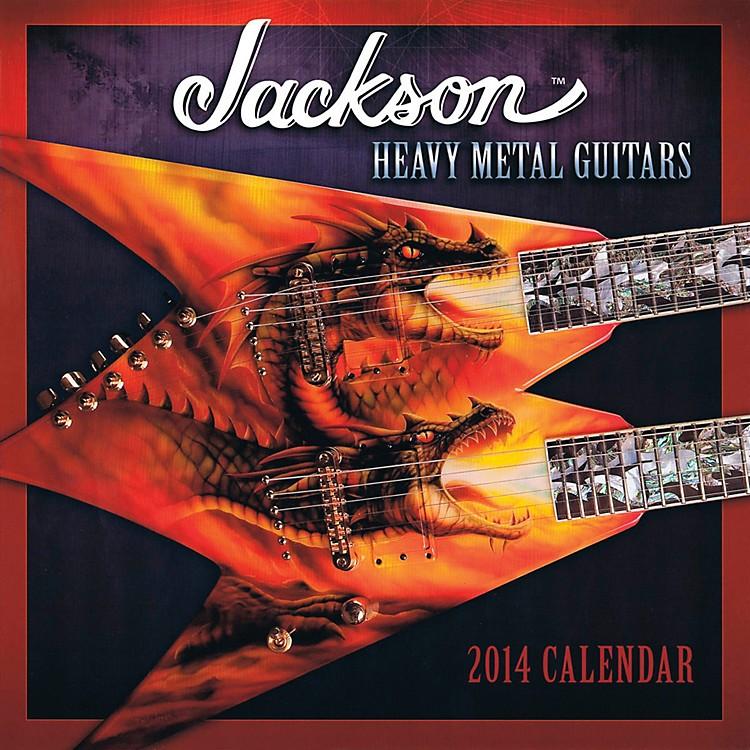 Hal Leonard2014 Jackson Heavy Metal Guitars Wall Calendar