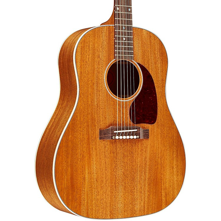 gibson 2014 limited edition j 45 an mahogany top acoustic electric guitar music123. Black Bedroom Furniture Sets. Home Design Ideas