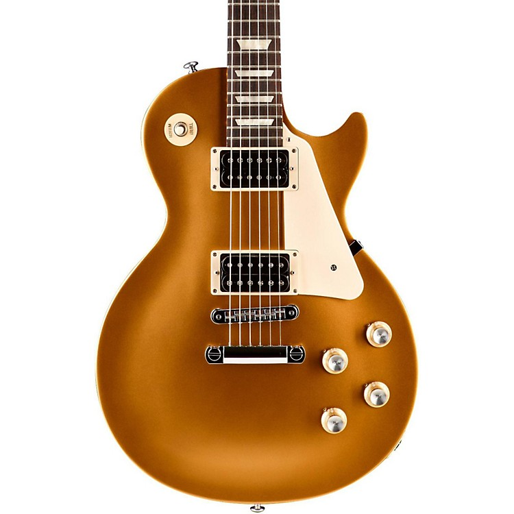 Gibson2016 Les Paul '50s Tribute T Electric GuitarSatin Gold Top with Dark Back