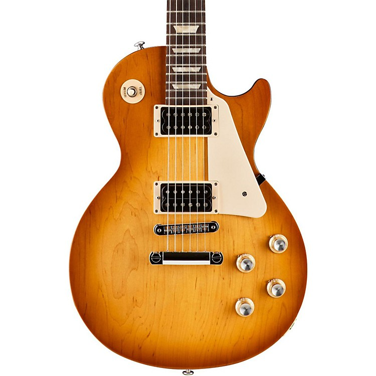 Gibson 2016 Les Paul '50s Tribute T Electric Guitar Satin Honeyburst with Dark Back