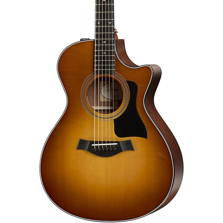 Taylor 2016 Limited 312ce Grand Concert Acoustic-Electric Guitar Honey Sunburst