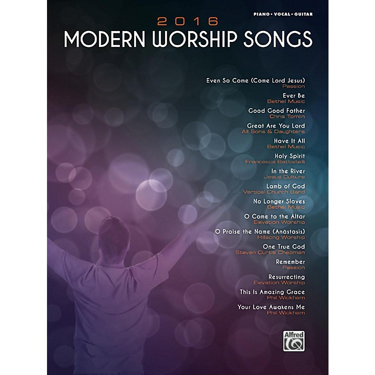 Alfred2016 Modern Worship Songs Piano/Vocal/Guitar Songbook