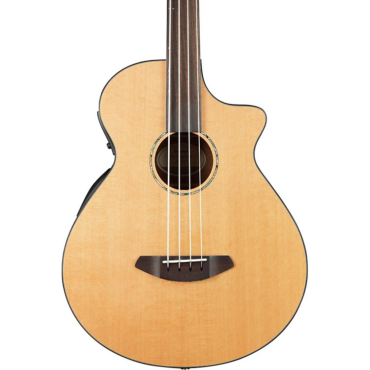 Breedlove2016 Solo Fretless Acoustic Electric BassNatural