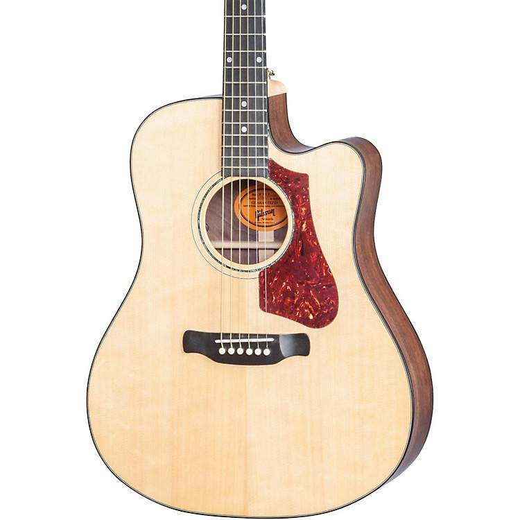 Gibson 2017 High Performance HP 635 W Square Shoulder Dreadnought Acoustic-Electric Guitar Natural