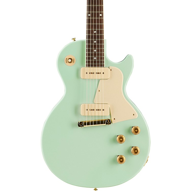 Gibson Custom2017 Limited Edition Les Paul Special Single Cut Electric GuitarKerry GreenWhite Pickguard