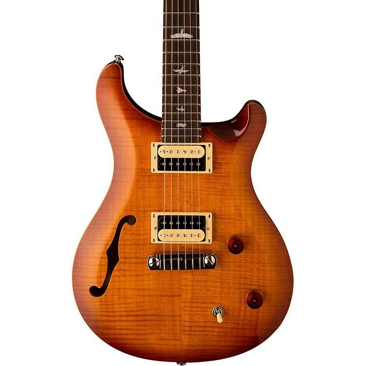 PRS2017 SE Custom 22 Semi-Hollow Electric GuitarVintage Sunburst