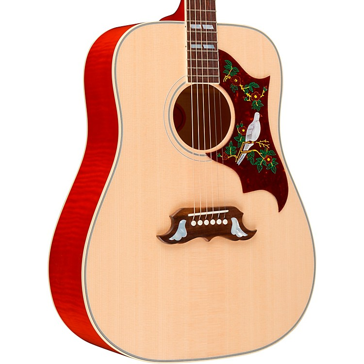 Gibson 2018 Dove Acoustic-Electric Guitar Antique Cherry