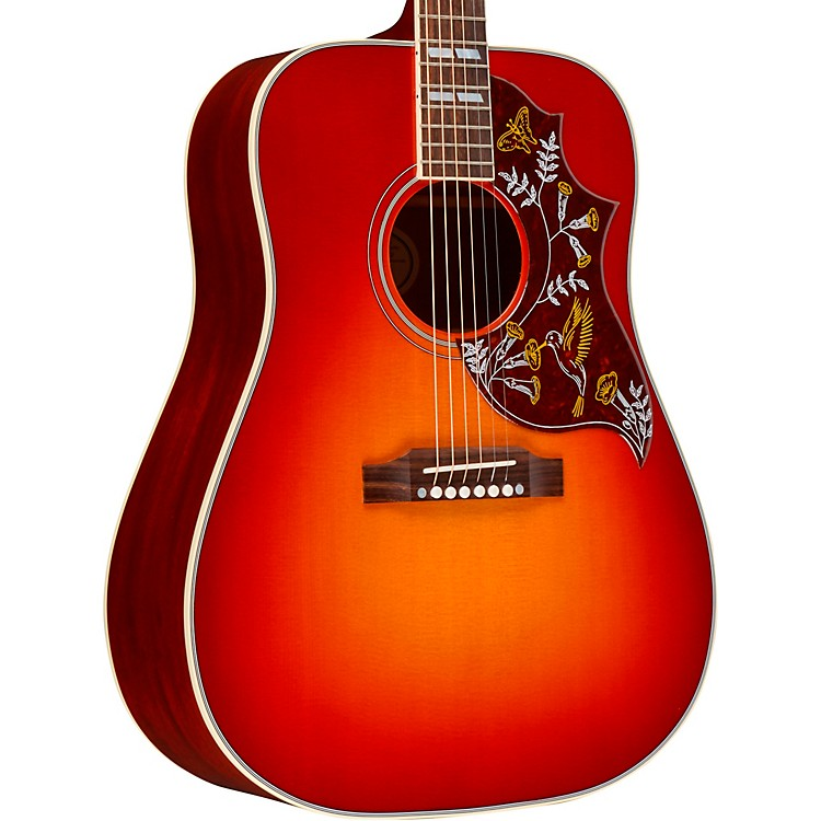 Gibson 2018 Hummingbird Acoustic-Electric Guitar Heritage Cherry Sunburst
