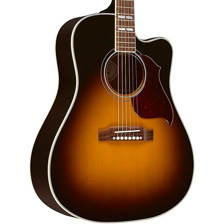Gibson2018 Hummingbird Pro CE Acoustic-Electric GuitarVintage Sunburst