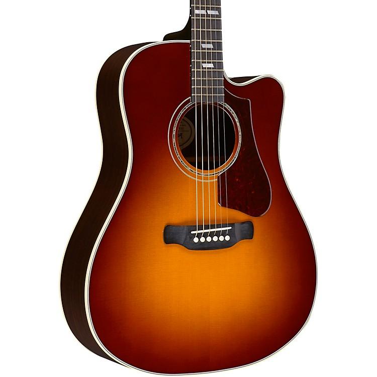 Gibson2018 Hummingbird Rosewood Avant Garde Acoustic-Electric GuitarRosewood Burst