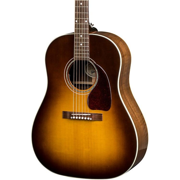 Gibson2018 J-15 Walnut Burst Acoustic-Electric GuitarWalnut Burst