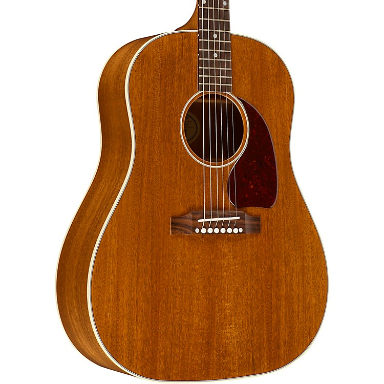 gibson 2018 j 45 mahogany acoustic electric guitar music123. Black Bedroom Furniture Sets. Home Design Ideas