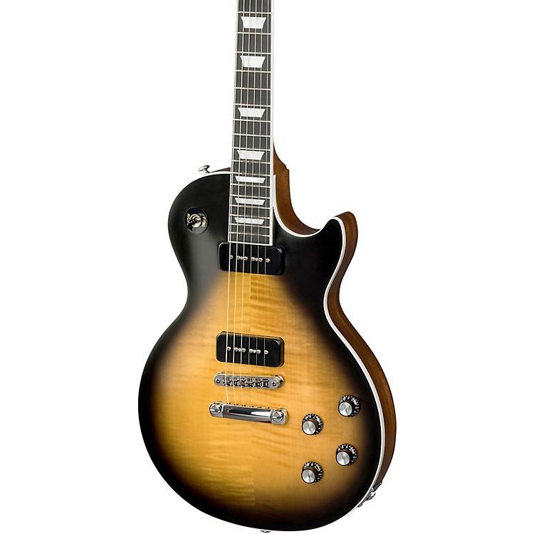 Gibson2018 Les Paul Classic Player Plus Electric GuitarSatin Vintage Sunburst