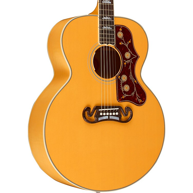 Gibson 2018 Limited Edition J-200 Trans Orange Acoustic-Electric Guitar Transparent Orange