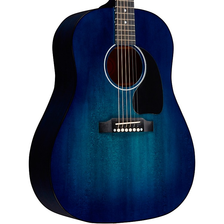 Gibson 2018 Limited Edition J-45 Denim Blue Acoustic-Electric Guitar Denim