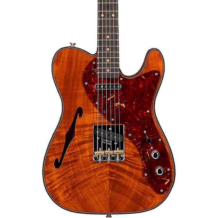 Fender Custom Shop2019 Artisan Koa Thinline Telecaster Electric GuitarAged Natural