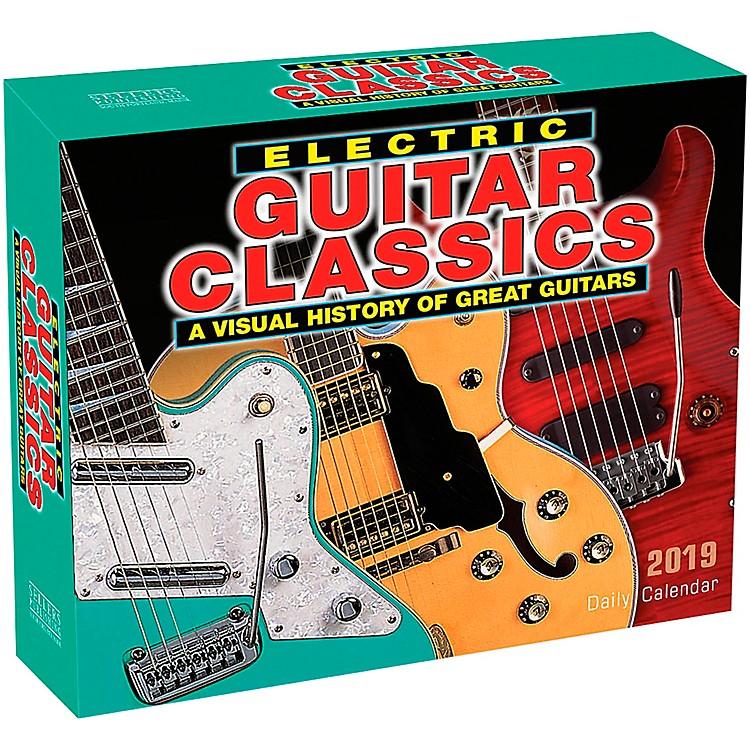 Hal Leonard2019 Electric Guitar Classics Daily Desk Calendar
