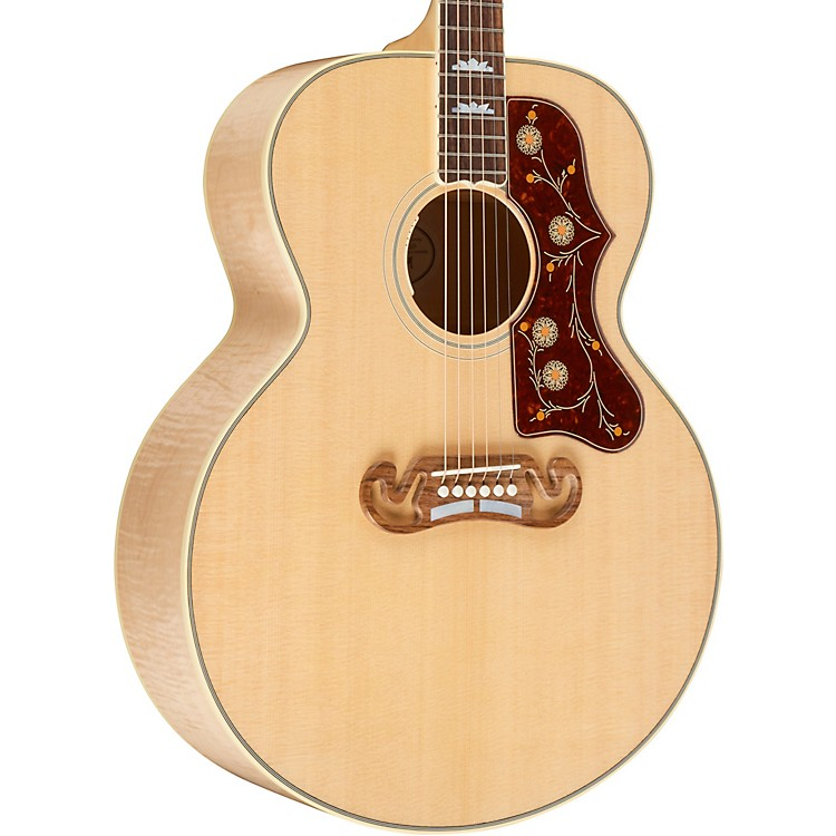 Gibson2019 J-200 Standard Acoustic-Electric GuitarAntique Natural
