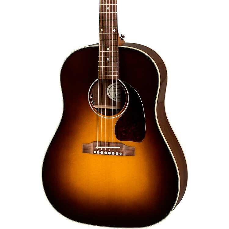 Gibson 2019 J-45 Studio Acoustic-Electric Guitar Walnut Burst