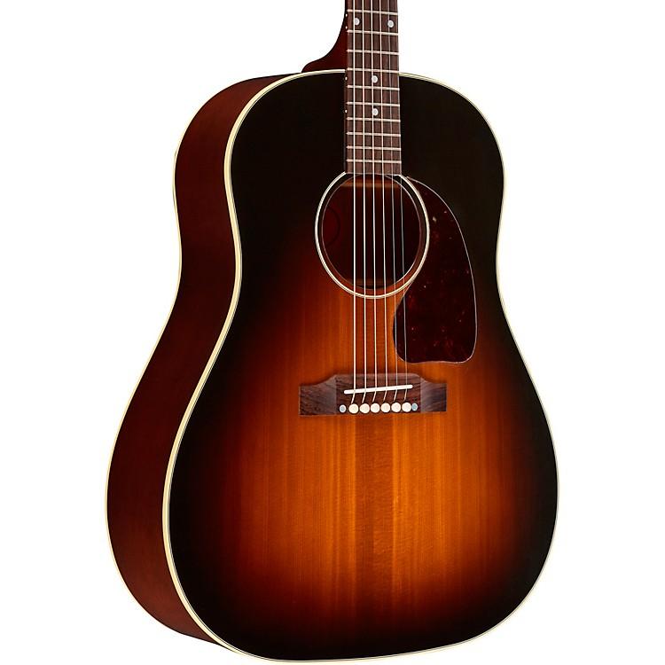 gibson 2019 j 45 vintage acoustic guitar vintage sunburst music123. Black Bedroom Furniture Sets. Home Design Ideas