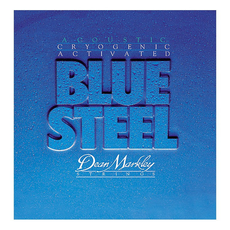 Dean Markley 2036 Blue Steel Cryogenic Medium Light Acoustic Guitar Strings